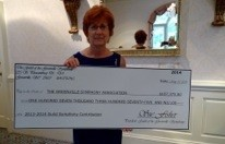 Sue & the Guild's 2014 Donation