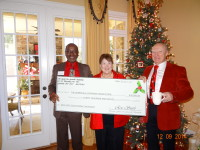 Holiday Party 2014 Check Presentation