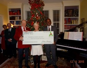 Holiday Party 2015 Check Presentation