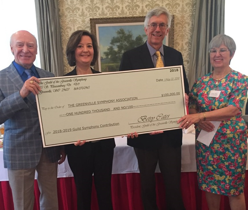 2018 Annual Meeting Check Presentation
