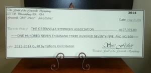Donation, 2014